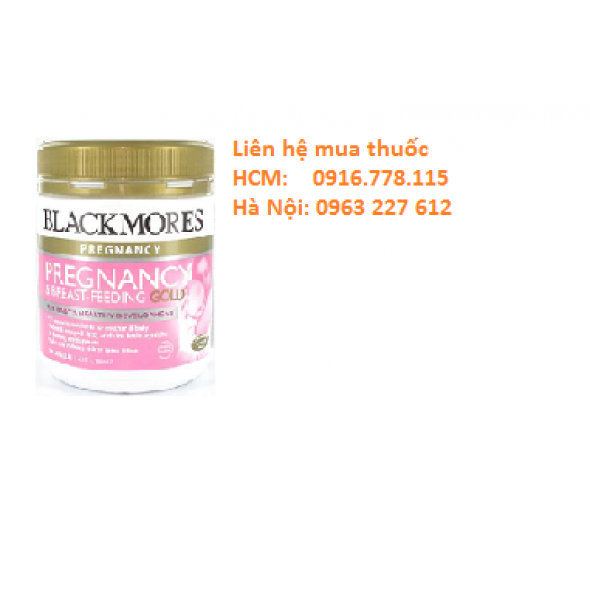 Blackmores Pregnancy & Breast Feeding Gold (Bà bầu-180 viên)