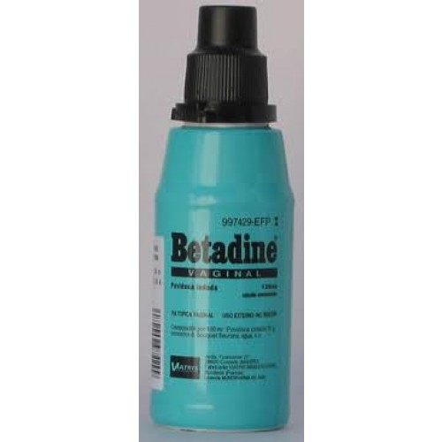 Betadine vaginal sol 125ml